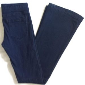 Free People Pull On Kick Flare Dark Wash Jeans 29